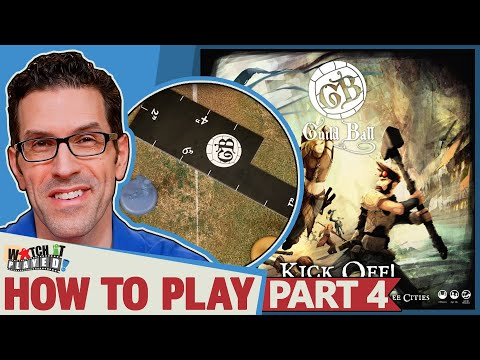 Guild Ball - How To Play (Part 4) - Movement
