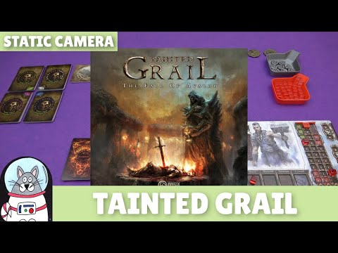 Tainted Grail   Solo Playthrough (Static Camera)   slickerdrips
