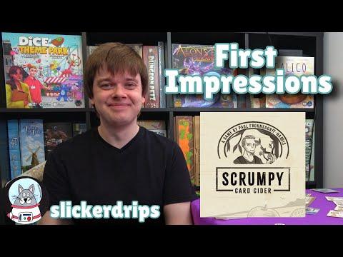 Scrumpy Card Cider | First Impressions