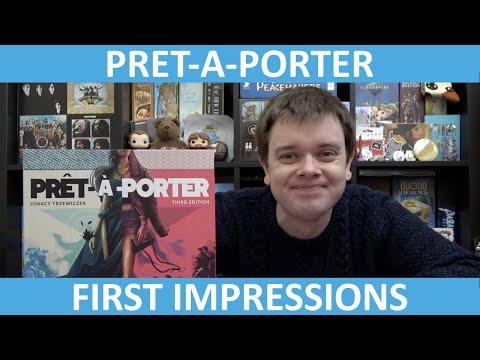 Prêt-à-Porter (Third Edition) | First Impressions | slickerdrips