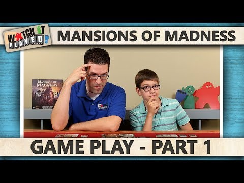 Mansions Of Madness - Game Play 1