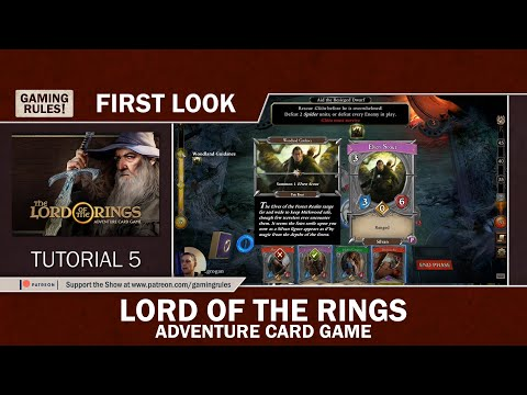 Lord of the Rings - Adventure Card Game - First Look - Tutorial 5
