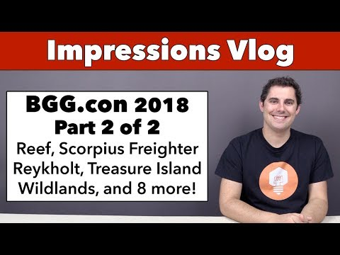 Impressions from BGG.con '18 - Part 2