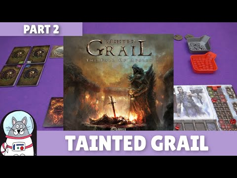 Tainted Grail   Solo Playthrough [Part 2]   slickerdrips