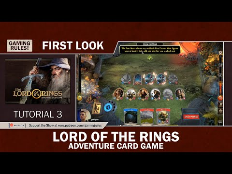 Lord of the Rings - Adventure Card Game - First Look - Tutorial 3
