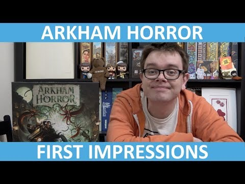 Arkham Horror Third Edition - First Impressions - slickerdrips