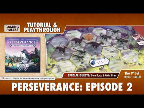Perseverance - Episode 2 Tutorial and Playthrough with the designers