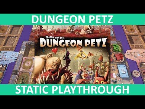 Dungeon Petz   Playthrough (Static Camera)   slickerdrips
