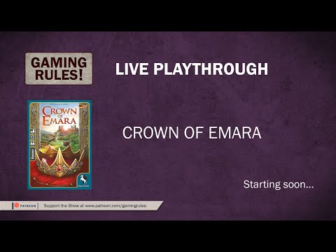 Crown of Emara - Live Solo Playthrough 2
