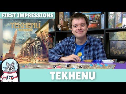 Tekhenu   First Impressions   slickerdrips