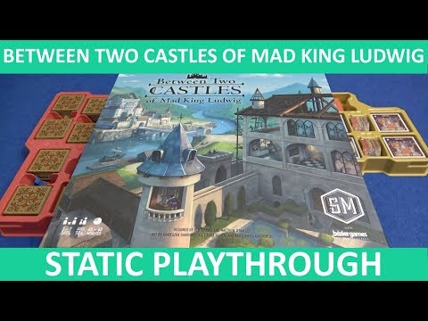 Between Two Castles of Mad King Ludwig - Playthrough (Static Camera) - slickerdrips