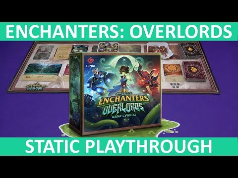 Enchanters: Overlords | Playthrough (Static Camera) | slickerdrips