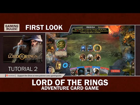 Lord of the Rings - Adventure Card Game - First Look - Tutorial 2