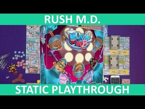 Rush M.D.   Playthrough (Static Camera)   slickerdrips