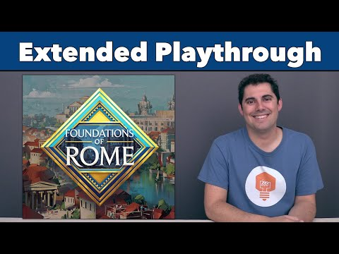 Foundations of Rome Extended Playthrough - JonGetsGames