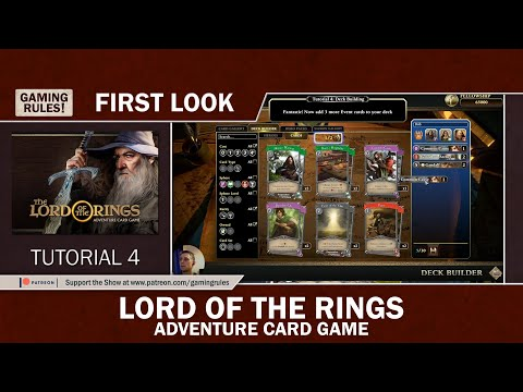Lord of the Rings - Adventure Card Game - First Look - Tutorial 4