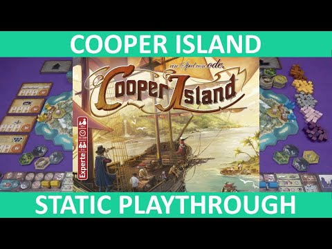 Cooper Island | Playthrough (Static Camera) | slickerdrips