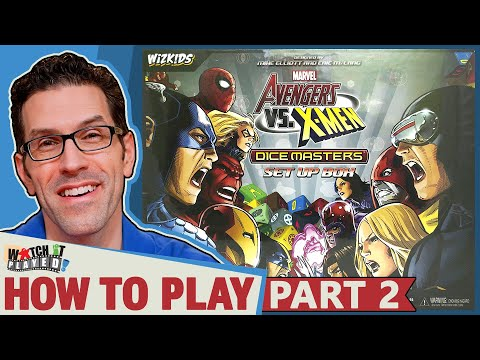 Marvel Dice Masters - Extra Rules and Team Building