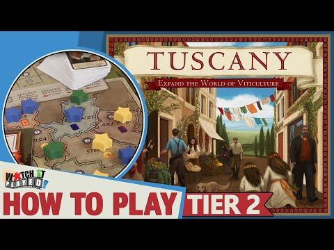 Viticulture: Tuscany - How To Play (Tier 2)