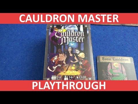 Cauldron Master - Playthrough
