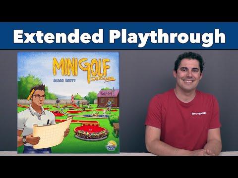 Minigolf Designer Extended Playthrough