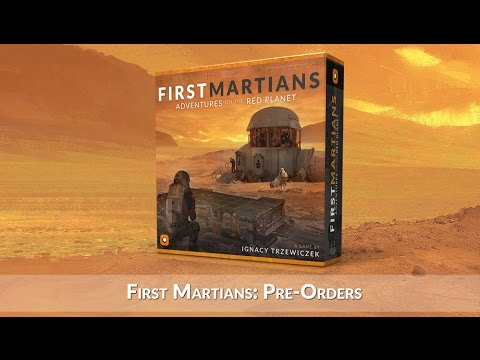 First Martians: Adventure On The Red Planet - Pre-orders