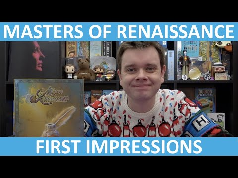 Masters of Renaissance | First Impressions | slickerdrips