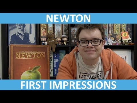 Newton - First Impressions - slickerdrips