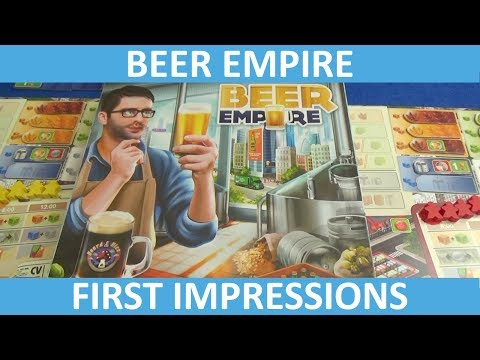 Beer Empire - First Impressions