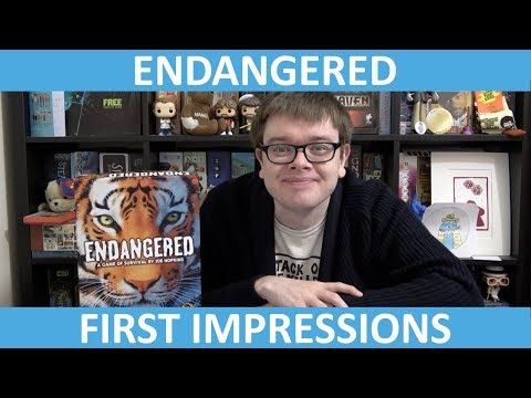 Endangered - First Impressions - slickerdrips