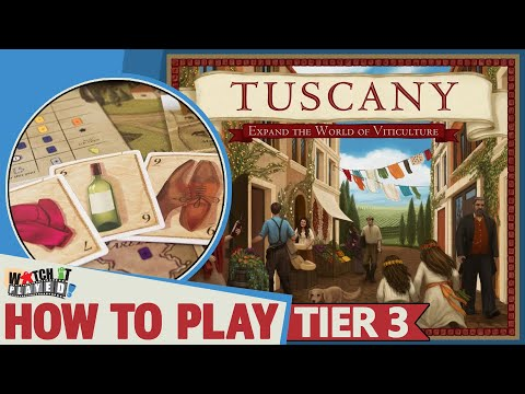 Viticulture: Tuscany - How To Play (Tier 3)