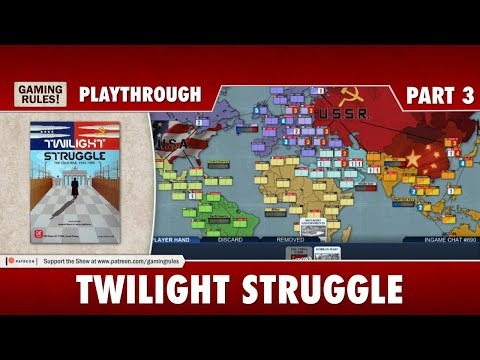 Twilight Struggle Digital - Playthrough Part 3