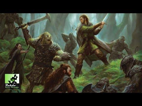 LotR: Journeys in Middle-Earth Setup