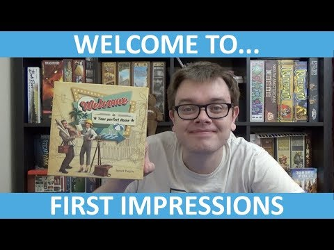 Welcome to... - First Impressions - slickerdrips