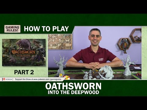 Oathsworn: Into the Deepwood - How to Play - Part 2: The Story