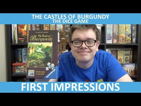 The Castles of Burgundy: The Dice Game - First Impressions - slickerdrips