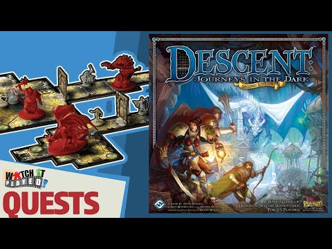 Descent Second Edition - How To Play - Quests And Questions