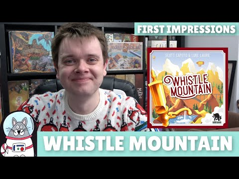 Whistle Mountain   First Impressions   slickerdrips