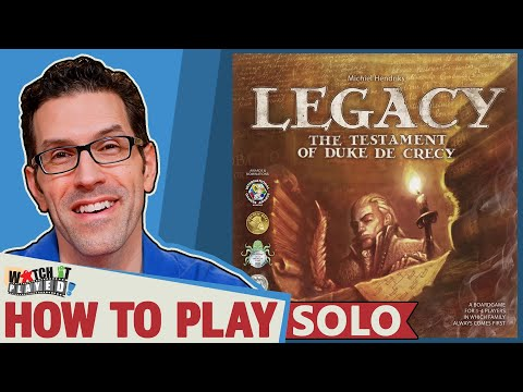 Legacy Solo Variant - How To Play