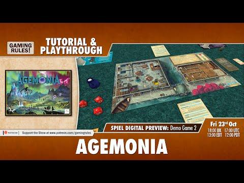 Agemonia - Tutorial & Playthrough Demo for Spiel Digital - Game 2