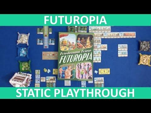 Futuropia - Playthrough (Static Camera) - slickerdrips