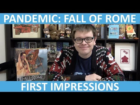 Pandemic: Fall of Rome - First Impressions - slickerdrips