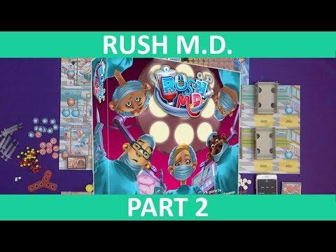 Rush M.D.   Playthrough (Static Camera) [Part 2]   slickerdrips