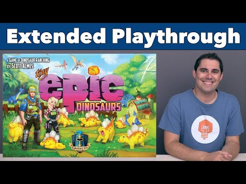 Tiny Epic Dinosaurs Extended Playthrough
