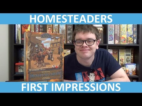 Homesteaders - First Impressions - slickerdrips