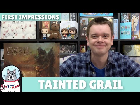 Tainted Grail   First Impressions   slickerdrips