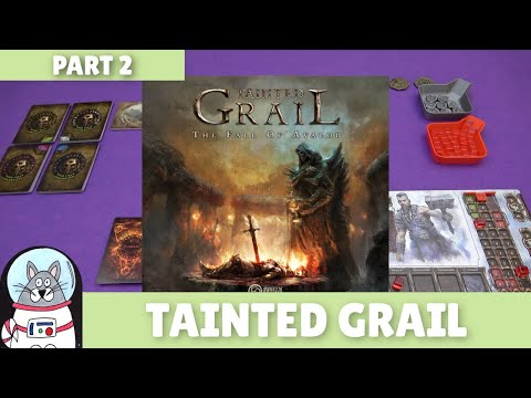 Tainted Grail   Solo Playthrough (Static Camera) [Part 2]   slickerdrips
