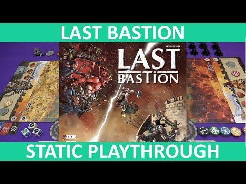 Last Bastion | Playthrough (Static Camera) | slickerdrips