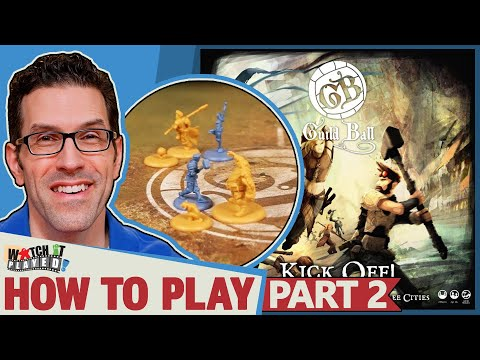 Guild Ball - How To Play (Part 2) - Sequence Of A Turn