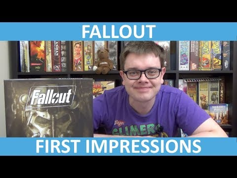 Fallout Board Game - First Impressions - slickerdrips